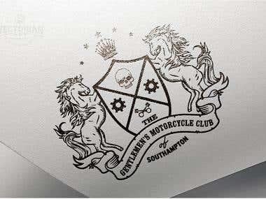 Logo Design: GENTLEMEN'S MOTORCYCLE CLUB