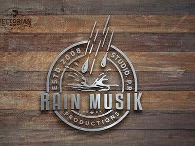Logo Design: RAIN MUSIK