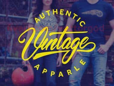 Logo design: Authentic Vintage Apparel