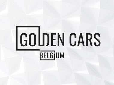 Logo design and corporate Identity of Golden cars.