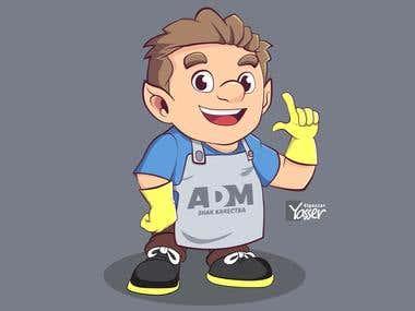 ADM Company Mascot