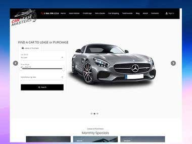 Car Lease Website