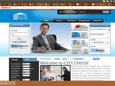 Financial Group Website