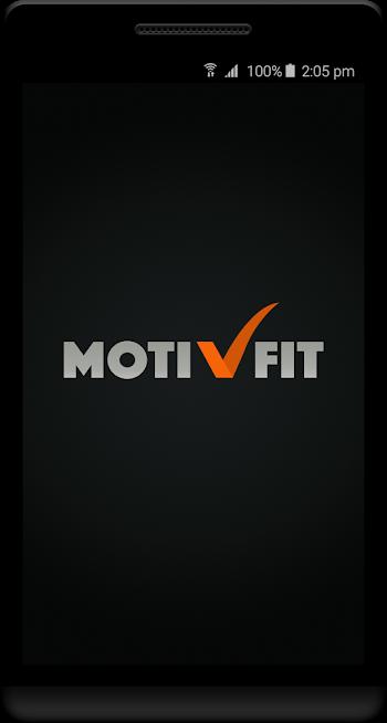 Motivfit( Fitness app )
