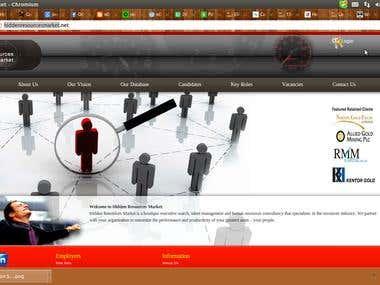 Boutique executive search, talent management
