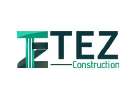 Tez Construction Logo Design