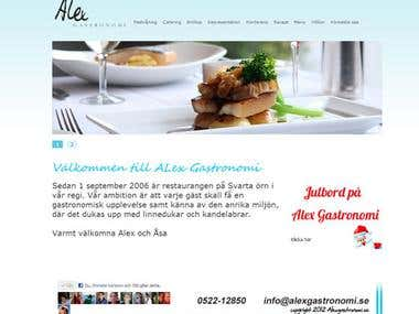 A tailormade catering site