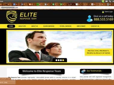 Security Website