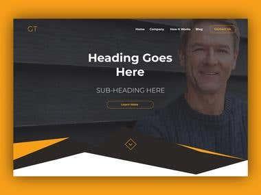 Landing Page - Hero Banner