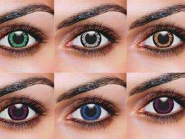 Eye Lenses - Image Editing