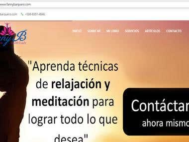 Full Responsive Website & Blog for Health Coach