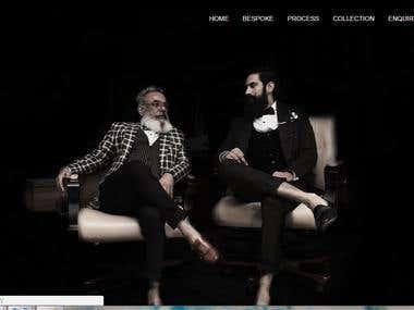 Full Responsive Website for Fashion Designer