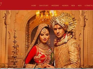 Full Responsive Website for Fashion Store