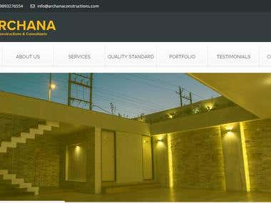 Full Responsive Website for Construction Company.