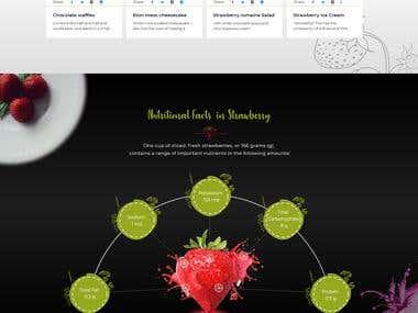 Strawberry Landing Page