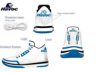Sport shoes tech pack