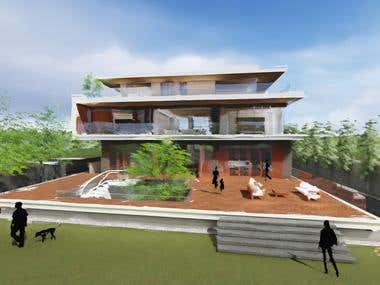 3 Storey House Concept Design
