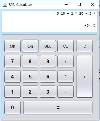 RPN Calculator