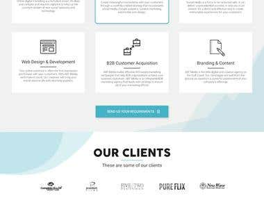 Digital Coast Media LLC Landing Page