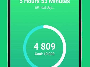 Step Counter (Android App)