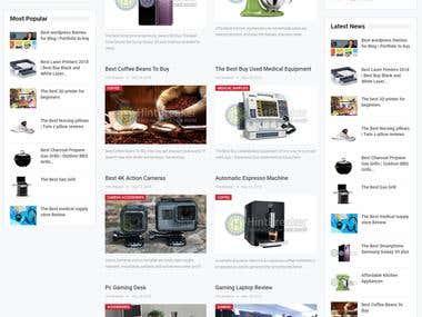 Web site design project for Hintbreaker