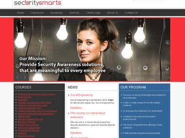 SecuritySmarts eLearning LMS