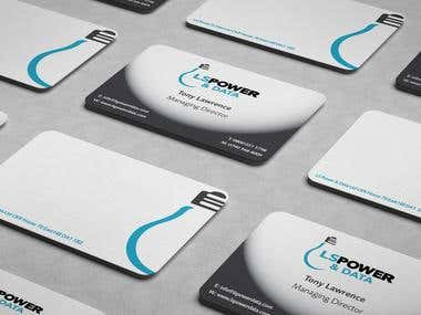 Power Data Business Cards