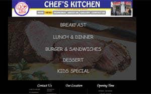 Bakery Cafe Web Site