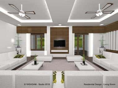 1020 - Residential Design at Navsari, Gujarat