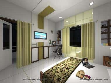 1010 - Bedroom 1 Interiors