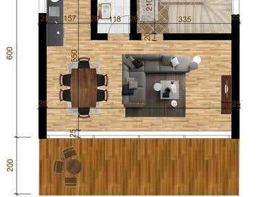 Photoshop - Floor Plan