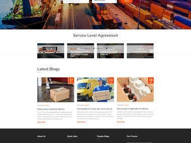 DBox Logistics Website