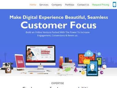 Full Responsive Website
