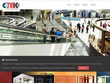 Elevator company website