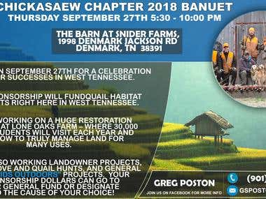 banner design for a farm