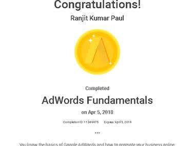 AdWords Fundamentals (2018)