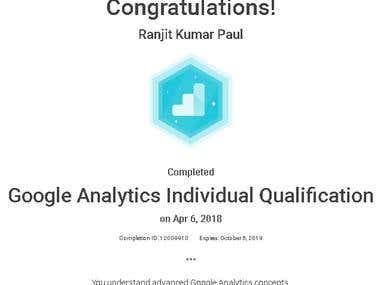 Google Analytics Individual Qualification (2018)