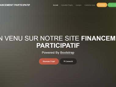 Website Of CROWDFUNDING