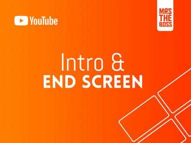 YouTube Intro & End Screen