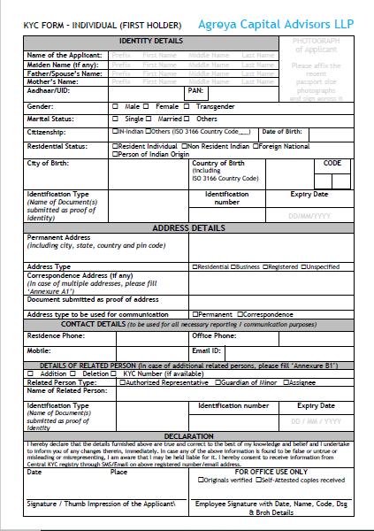 KYC Form   Freelancer