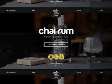 Angular-5 Development - Chai Rum Application