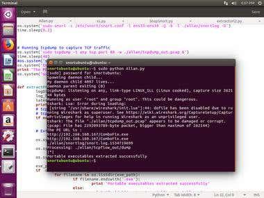 Python : Mini-IPS framework