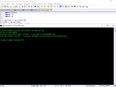 Python: Parsing PDF files
