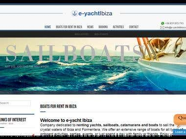 SPECIALIST COMPANY OF BOATS TO RENT TO SAILING IN FORMENTERA
