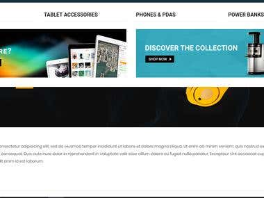 UK based E-Commence Shopping Site