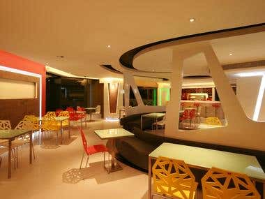 Interior Project - food court