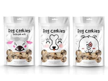 dog cookies product