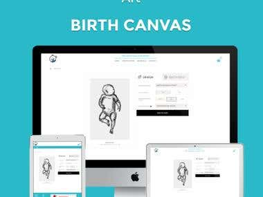 Birth Canvas