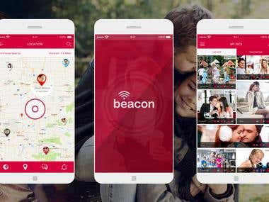 APP DESIGN - BEACON