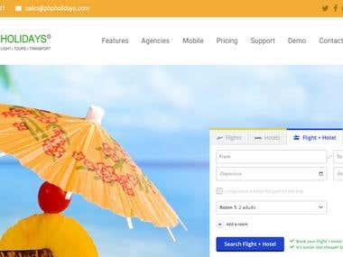 Hotel flight car Booking script: Expedia api, nepolian api
